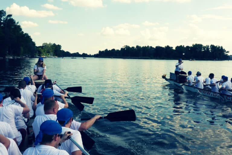 avedos teambuilding drachenbootrennen