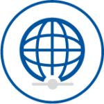 handlungsrahmen weltkugel icon
