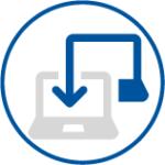 Umsetzung computer kabel icon