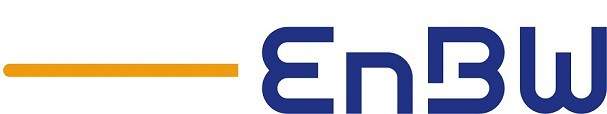 EnBW Logo blau orange