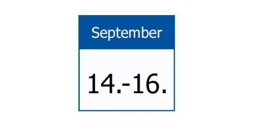 14-.16. September