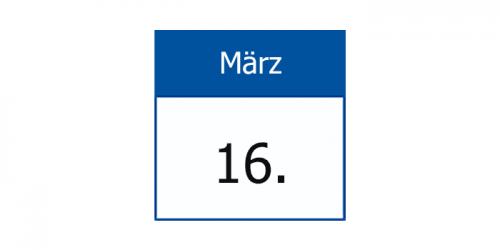 16.März