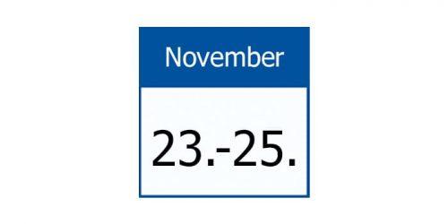 23-25 November