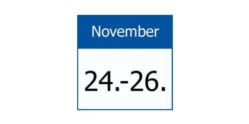 Datumsbild 24-26 November