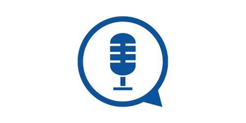 Podcast icon microfon