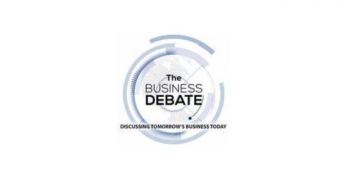 The Business Debate logo