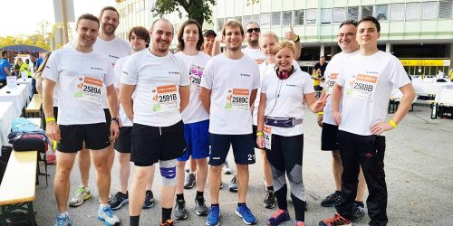 Team avedos at the 18th Wien Energie Business Run